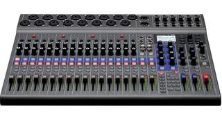 Zoom Livetrak L-20 - Mixer Grabador De 20 Entradas - Cuotas!