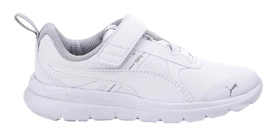 Puma Zapatillas Running Niño Flex Essential Sl Blanco