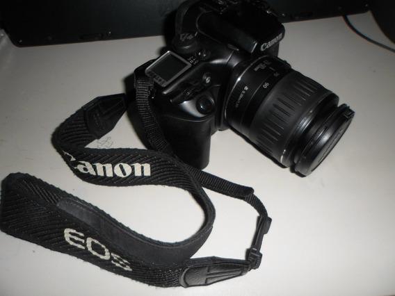 Câmera Fotográfica - Canon Eos-30 Analógica C/ Lente
