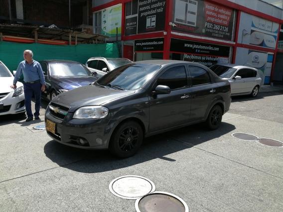 Chevrolet Aveo Emotion Mt 2012 Perfecto Estado