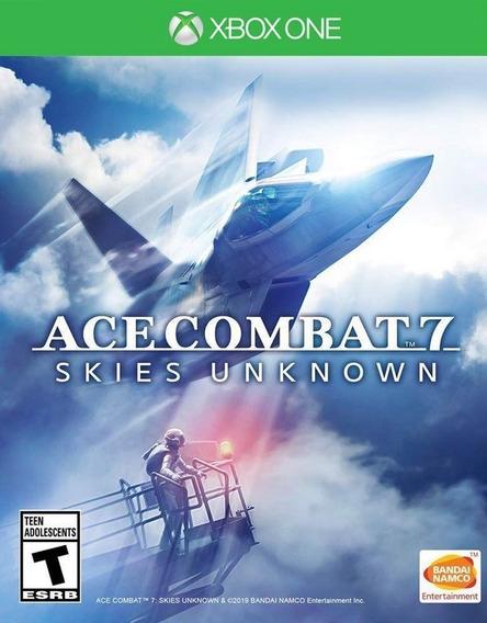 Ace Combat 7 Skies Xbox One Simulador Avião Física Português