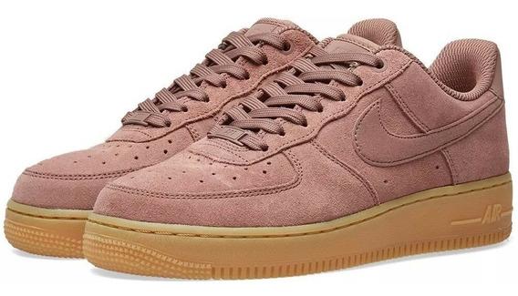 Nike Air Force 1 Suede Rosa Original Lancamento Feminino Se