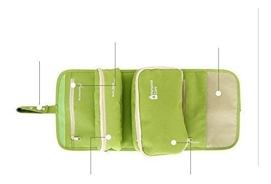 Organizador Valija Porta Cosmeticos Desplegable 3 En 1