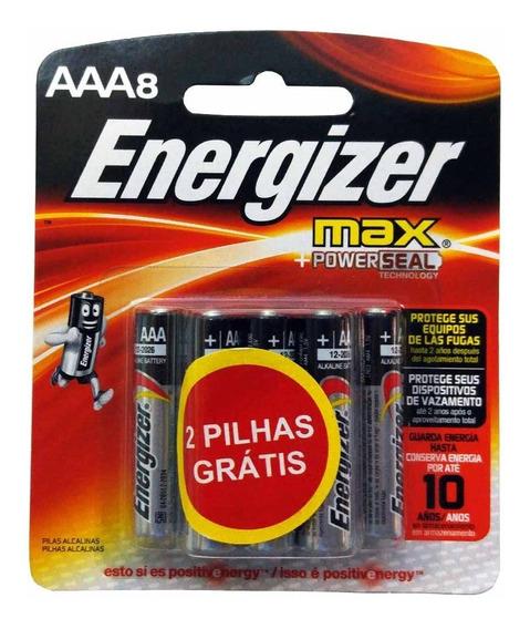 Pilha Alcalina Energizer Max Aaa Palito 40 Unidades