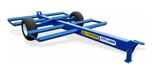 Carro Transportador De Fardos Redondos X4 Jhartwich