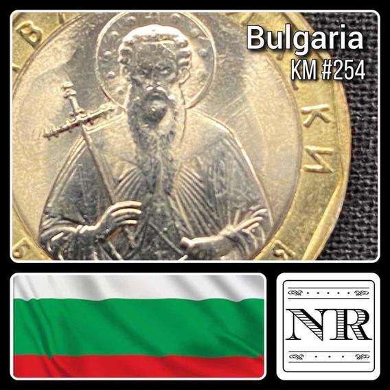 Bulgaria 1 Leva - Año 2002 - Bimetalica Km # 254