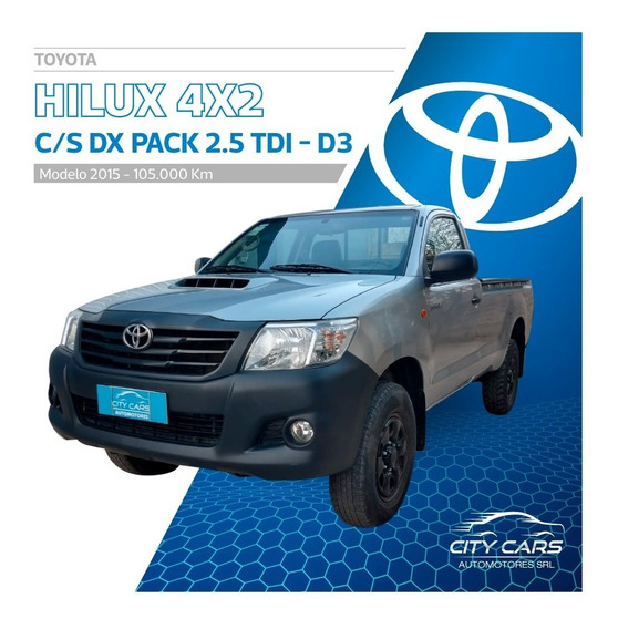 Toyota Hilux 2.5 Cs Dx Pack 120cv 4x2