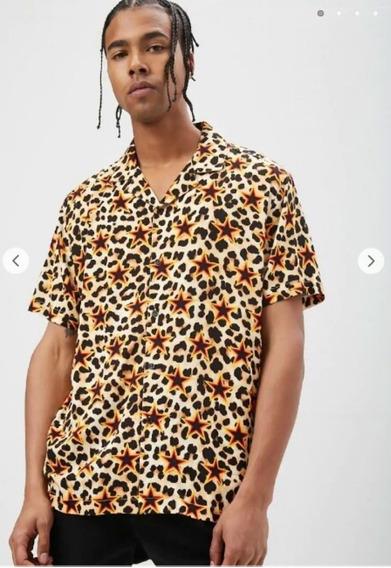 Camisa De Leopardo Y Estrellas