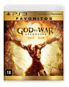 God Of War Ascension Gow Ps3 Pt Br Dublado Mídia Física