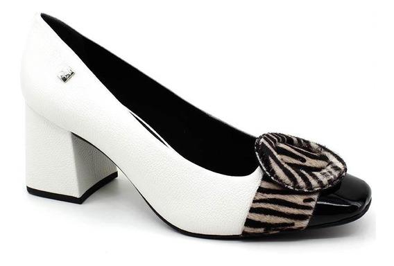 Sapato Scarpin Loucos E Santos 41341002 Branco Loja Pixolé