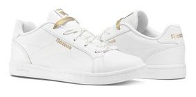 Tenis Reebok Royal Complete Clasicc Blancos Infantil