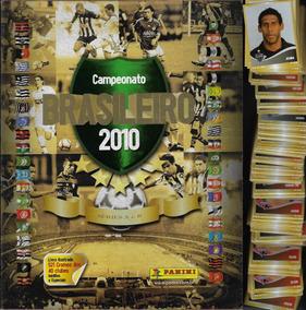2010 Álbum Campeonato Brasileiro Vazio + 100 Figurinhas