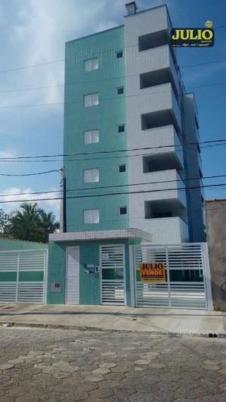 Entrada De R$ 35.980,00 + Saldo Super Facilitado Apartamento Com 2 Dormitórios À Venda, 63 M² Por R$ 179.900 - Residencial Florida Mirim - Mongaguá/sp - Ap0485