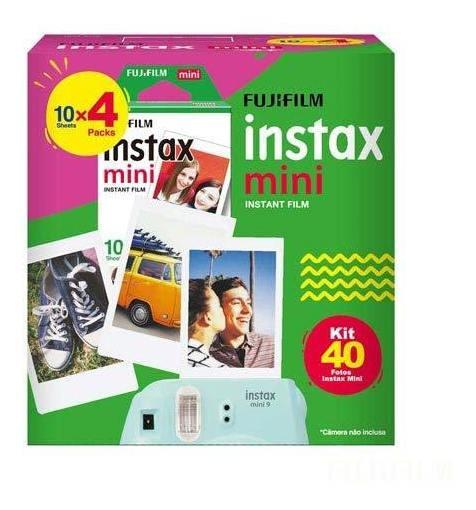 Filme Instantâneo Fujifilm Instax Mini 40 Fotos - 705065388