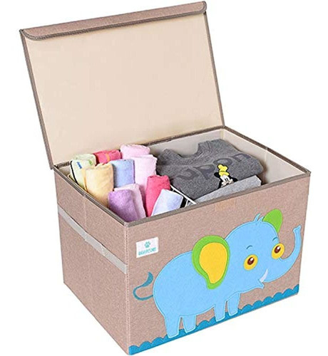 Bearcubs - Cofre De Juguetes Plegable Para Niños - Caja De