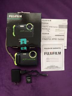 Cámara Fijifilm Xp80 Seminueva En Perfectas Condiciones