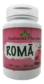3 Roma 120 Cápsulas 500 Mg 100% Puro Anti Envelhecimento