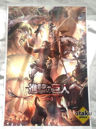 Poster Grande Shingeki No Kyojin
