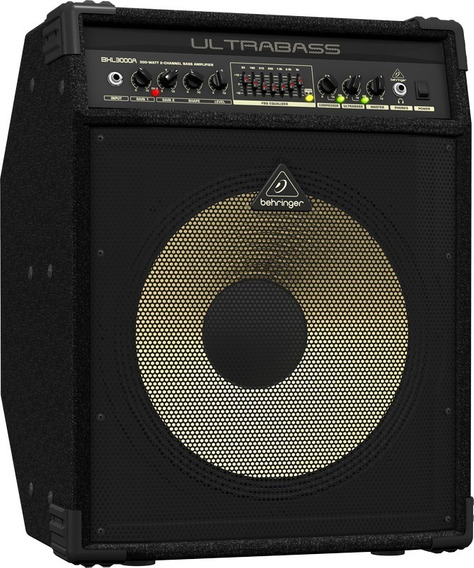 Amplificador De Bajo Behringer Bxl3000a Ultrabass 300w