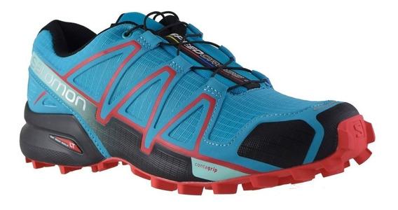 Zapatilla Salomon Speddcross 4 Mujer Trail Running 383102