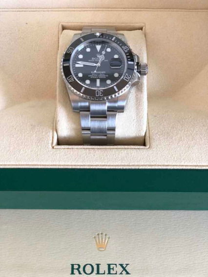 Relógio Rolex Submariner Cerâmica Máquina Suíça Eta Aaa