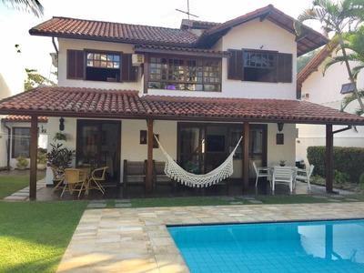 Vendo Excelente Casa Na Barra Da Tijuca - Condomínio Sta. Mônica Sul - 307m² - 116