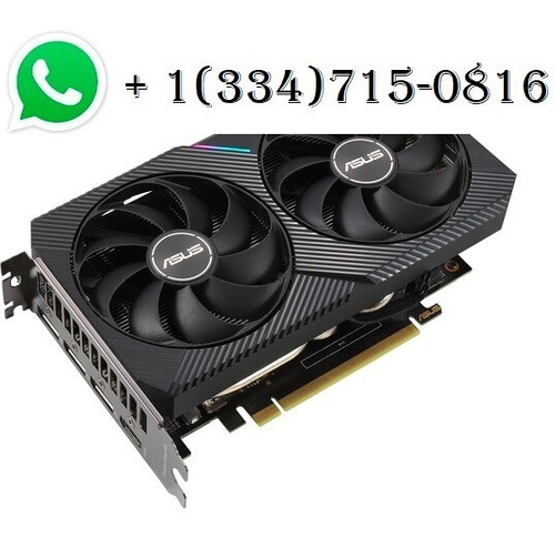Imagen 1 de 1 de Nuevo Asus Geforce Rtx 3060 Dual Oc Graphics Card