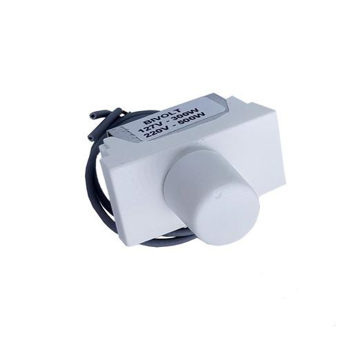 Dimmer Rotativo Módulo Branco 300/500w Pial Plus Roma