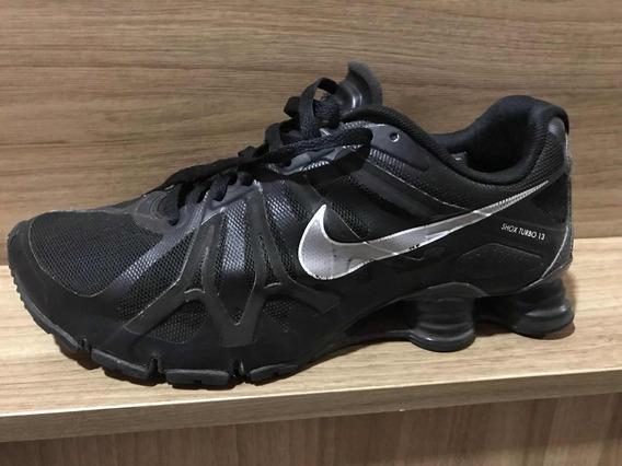 Tênis Nike Shox Turbo 13 Original Masculino Mola Preto Raro
