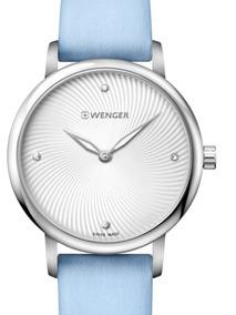 Relógio Suíço Feminino Wenger Urban Donissima Azul