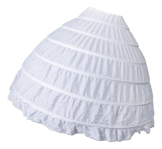 6 Aros Vintage Enagua De Moda Falda De Miriñaque Nupcial