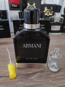 Armani Eau De Nuit - Decant / Amostra 10ml
