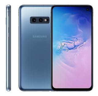 Smartphone Samsung Galaxy S10e Azul Novo Nacional Anatel