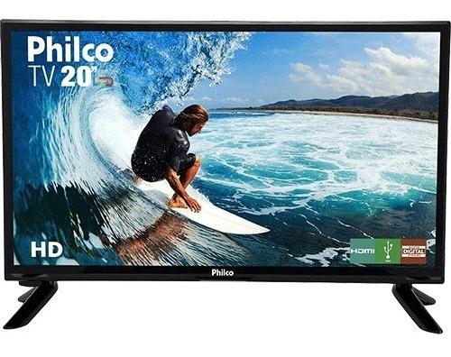 Tv 20 Philco Led Hd Carreta Barco Lancha Van 12v Portátil