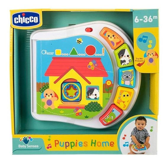 Chicco Puppy Home Libro Electrónico 9779