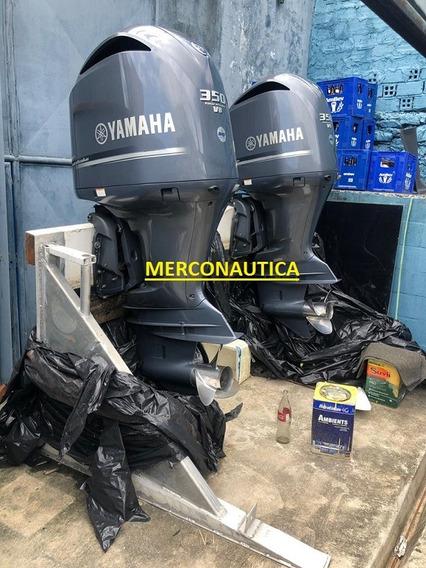 Motor De Popa Yamaha 350 Hp Semi Novo Com 400h( Frete Grátis