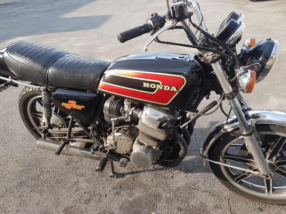 Honda 750 Four Cbx Placa Preta Aceito Troca 1973 Cb