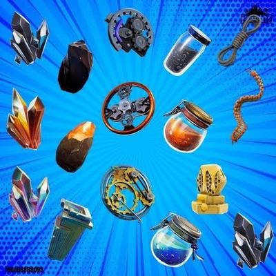 Fortnite Materiales Salvar El Mundo