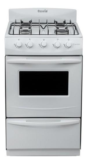 Cocina Candor S2 51cm 4 Hornallas Vs Gas Natural Escorial