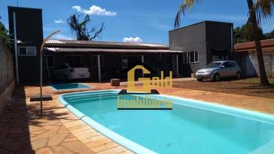 Chácara Com 3 Dormitórios À Venda, 1187 M² Por R$ 490.000,00 - Jardim Ouro Branco - Ribeirão Preto/sp - Ch0011
