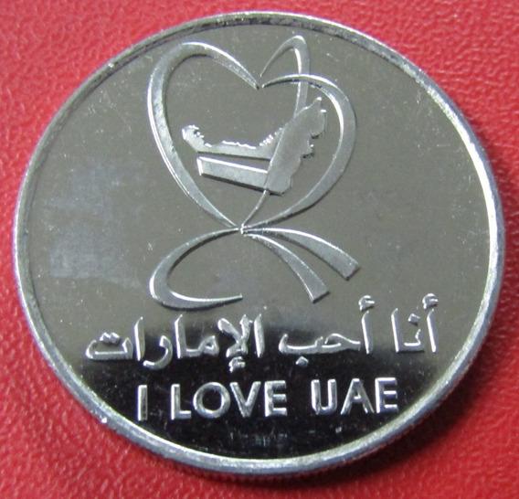 Emiratos Arabes 1 Dirham 2010 Unc Love U A E