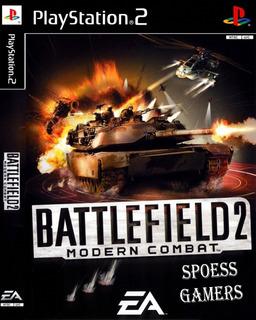 Battlefield 2 Modern Combat ( Tiro ) Ps2 Desbloqueado Patchs