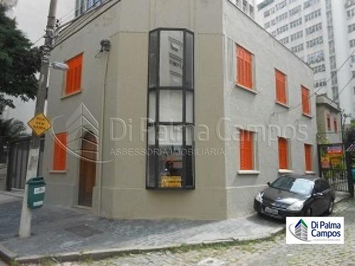 Sobrado Comercial Para Locação  Com 106m², Bairro Higienópolis, São Paulo/ Sp. - Dp4756