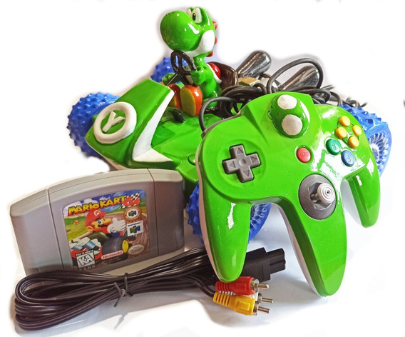 Consola Nintendo 64 Personalizada + Juego Gratis
