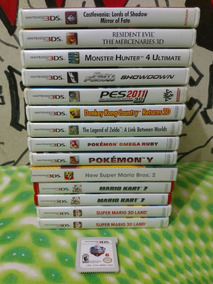 Lote Jogos Originais Nintendo 3ds Leia A Descrição Frete $13