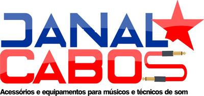 Concerto De Cabos Para Microfone Violão Instrumentos