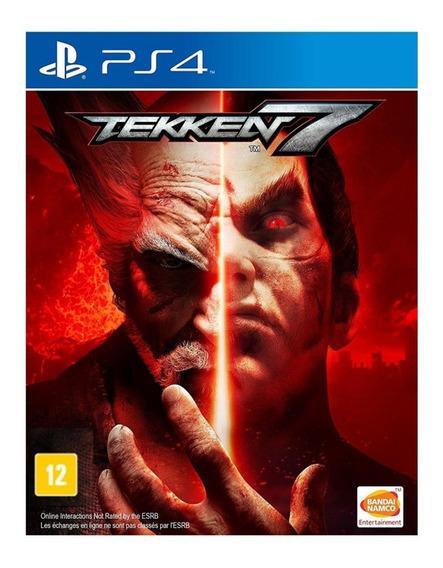 Tekken 7 - Ps4 - Mídia Física - Novo