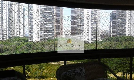 Apartamento Com 4 Dormitórios À Venda, 140 M² Por R$ 1.999.900,00 - Barra Da Tijuca - Rio De Janeiro/rj - Ap2138