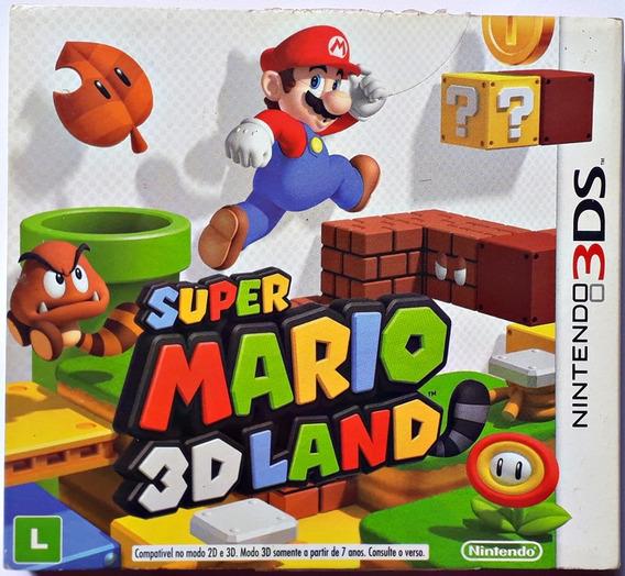 Jogo Super Mario 3d Land Nintendo 3ds Original Mídia Física