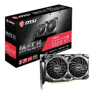 Tarjeta De Video Msi Radeon Rx 5500 Xt Mech 8gb Oc - Ctman
